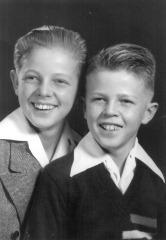 Clayn & Grant portrait, 1948
