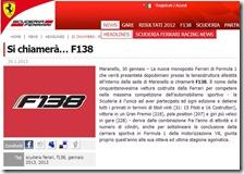Si chiamerà… F138
