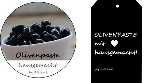 Etikette_olivenpasteteHelene