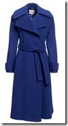 Reiss Lilac Raglan Sleeve Coat