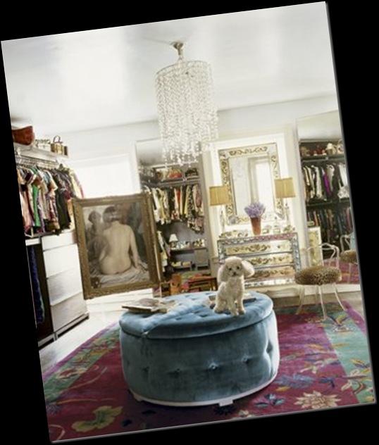 Vestidor de ensueño lepore via houseofturquoise