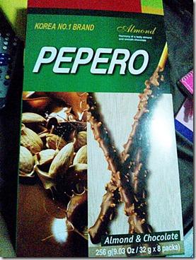 pepero, 240baon