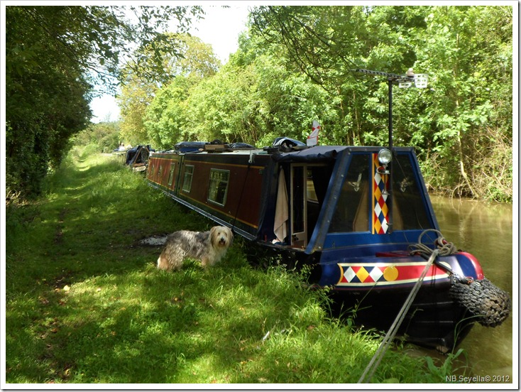SAM_1096 Moored above Pigeon Lock