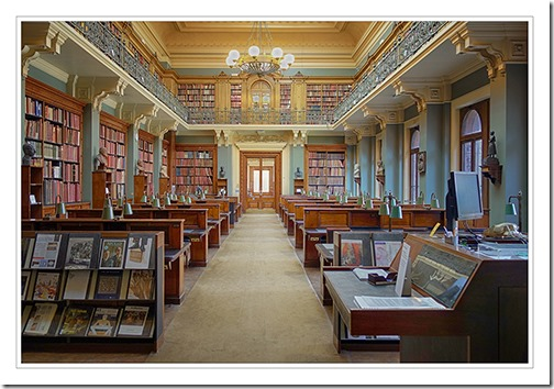 LIBRARY ROOM AT VICTORIA AND ALBERT MUSEUM, LONDON by 34  by Mike Routley