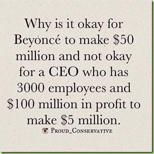 Beyonce-profits