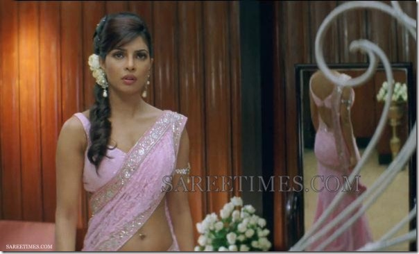 Priyanka_Chopra_Designer_Sleeveless_Saree_Blouse