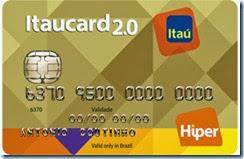 Pedir Cartão de Crédito Itaucard 2.0 Nacional Hiper