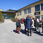 C'est le grand jour ! toute l'équipe devant le musée Ebeling à Torshala
