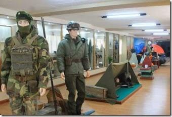 El Museo de Malvinas se encuentra ubicado en la planta alta de la Terminal de Ómnibus de Santa Teresita