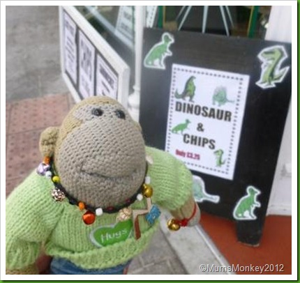Dinosaur and Chips Torquay