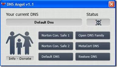 DNS Angel server DNS sicuri non attivati