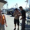 Les Edelistes font connaissance et s'entraide pour la mise à l'eau des bateaux