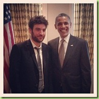 Obama_josh radnor how i met your mother