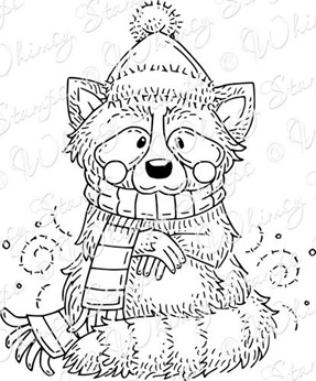 Cozy Winter Raccoon ONLINE