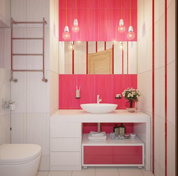Diseno De Baños Para Ninas: perfectamente al color y el diseño de la cortina utilizado aquí