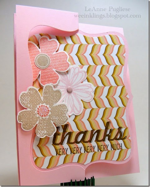 LeAnne Pugliese WeeInklings Flower Shop Fabulous Four Stampin Up