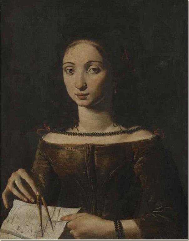 Pietro Paolini, Portrait de femme