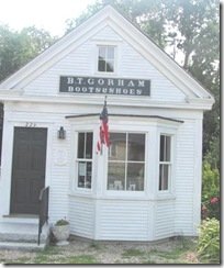 Cape Cod Yarmouthport old Cobbler shop