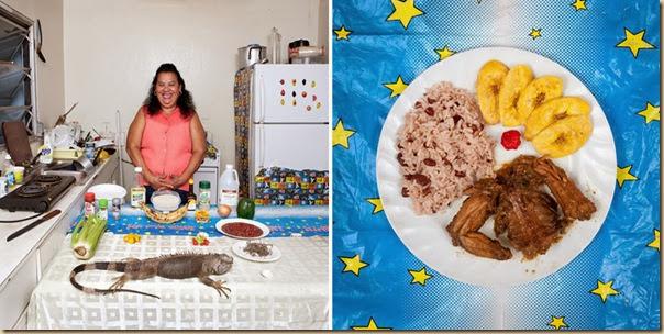 Portraits de grand-mères et leurs plats cuisinés (4)