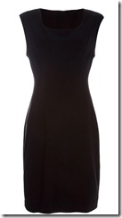DvF black dress