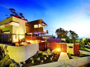 casa de fachadas modernas zinc