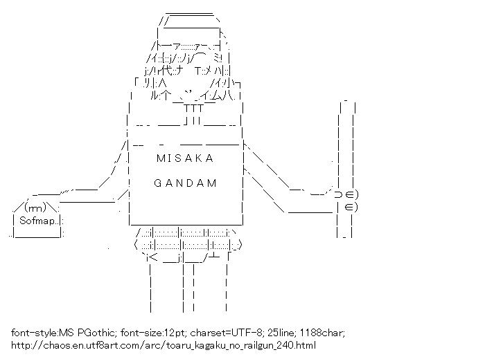 Toaru kagaku no railgun,Sisters,GUNDAM
