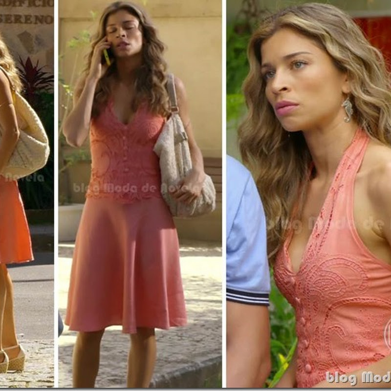 Looks do dia 21 de maio na novela Flor do Caribe