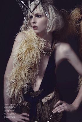 Andrej Pejic by Mariah Jelena (My People Were Fair And Had Sky In Their Hair - Black #16 Spring-Summ (4)