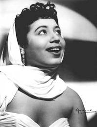 Coloratura soprano Mattiwilda Dobbs