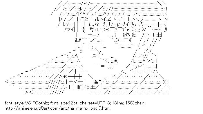 Hajime no Ippo,Makunouchi Ippo