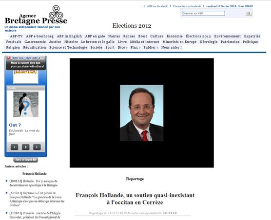 ABP François Hollande