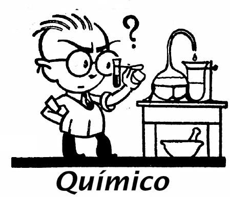 QUIMICOS DIBUJOS PARA COLOREAR