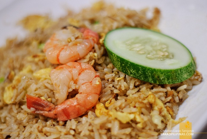 Spicy Fried Rice at Tastes of Asia in Sentosa, Singapore
