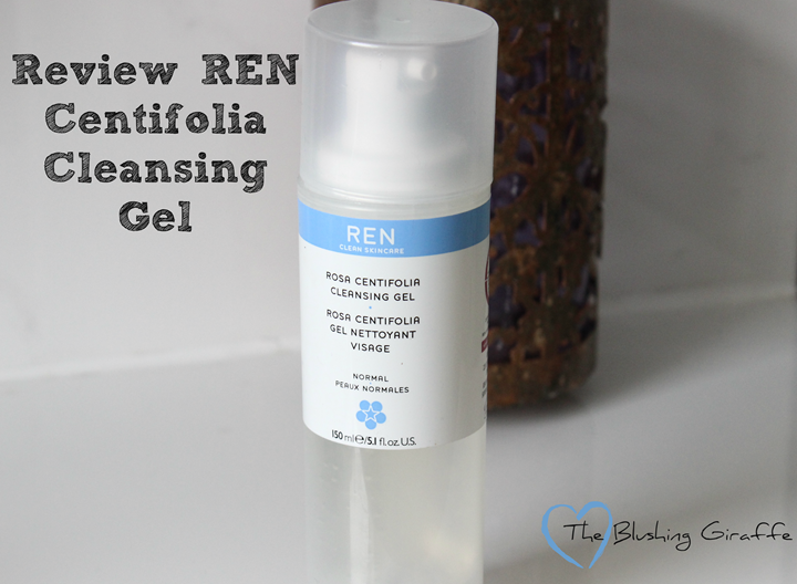 ren centifolia cleansing gel review