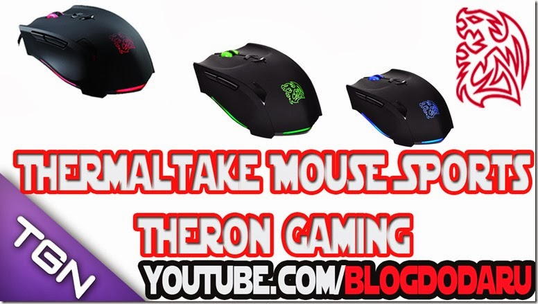 Thermaltake Mouse Sports Theron - MO-TRN006DT - Unboxing