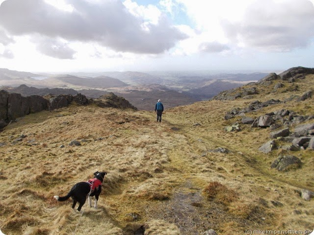 descending harter fell