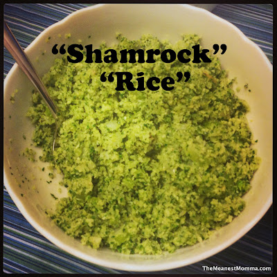 &#8220;Shamrock&#8221; &#8220;Rice&#8221;
