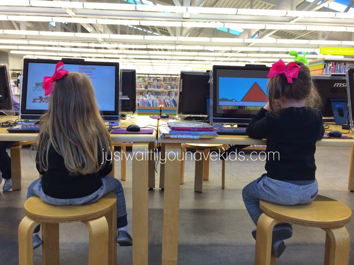 Homeschool-W2-Library-Time