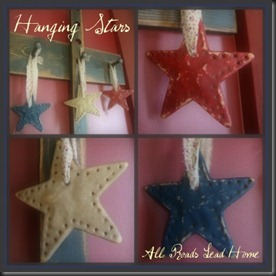 Hanging Stars Collage