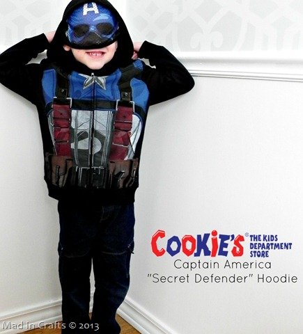 Cookie's Kids Captain America