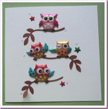 Owl Card 4