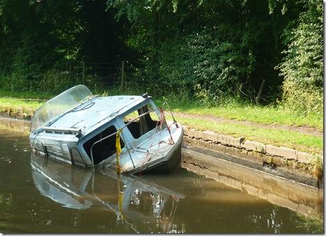still sunk
