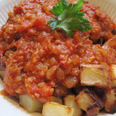 Patatas Bravas  -  Potatoes for the Brave, Spanish Style!