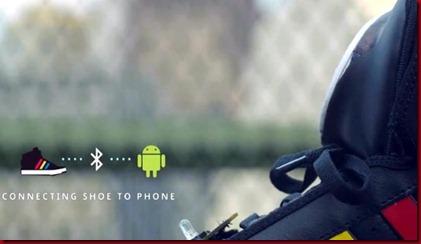 Sepatu Google Bisa Bicara Dengan Android