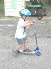 6.25.11 Cody on scooter