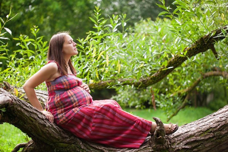 Фотосессия беременности. Таня в ожидании доченьки