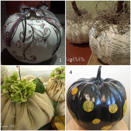 Features 15 Pumpkins