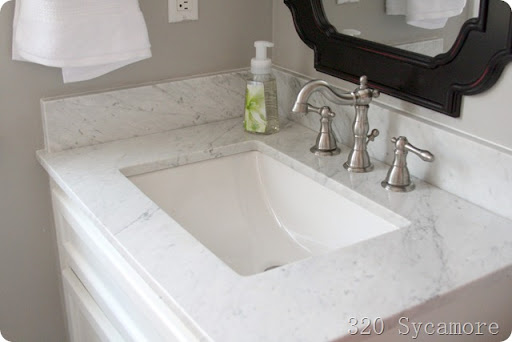 Perfect february master bathroom after