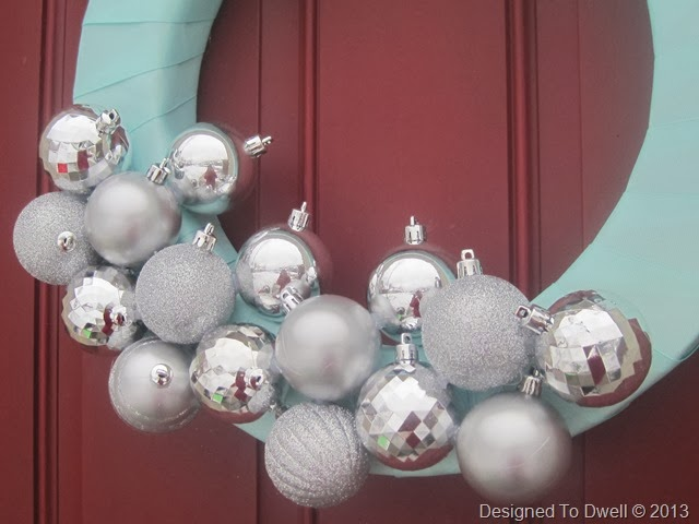 Mint & Silver Wreath
