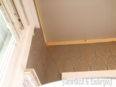 Crown Molding Tutorial {Sawdust & Embryos}